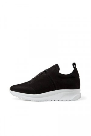 Jim Rickey Cloud Runner Wmn -nubuck Black