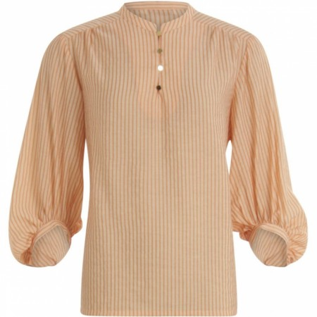 Costercopenhagen Blouse W. Volum At Sleeves