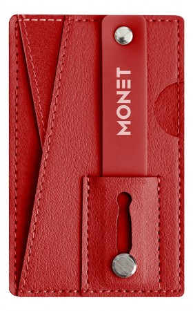 Monet Diverse Wallet Grip Red