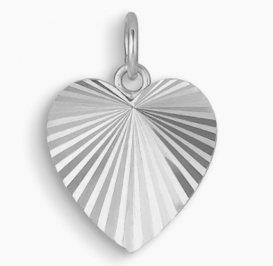 Jane Kønig Reflection Heart Pendant