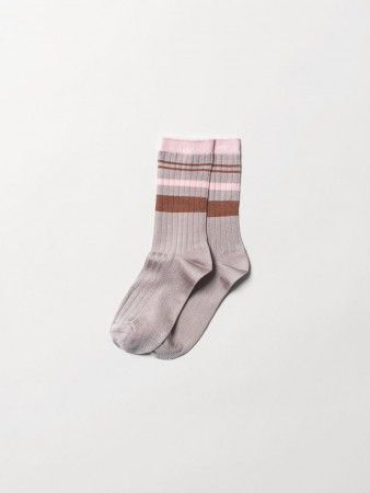 Becksondergaard Sporty Rainbird Sock Adobe Rose
