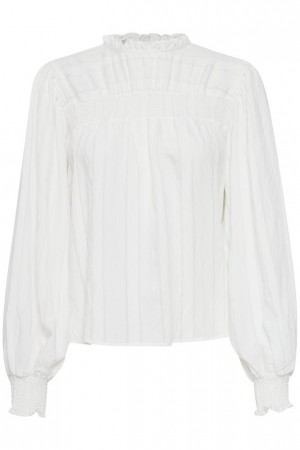 B-young Byimmy Blouse Off White
