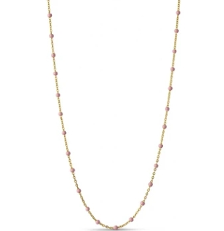 Enamel Copenhagen Necklace Lola Light Pink