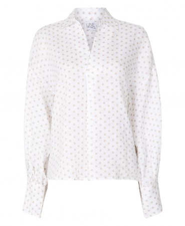 Line Of Oslo Sharp Dot Blouse Sand