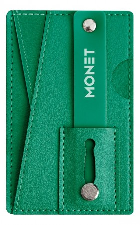 Monet Diverse Wallet Grip Forest Green