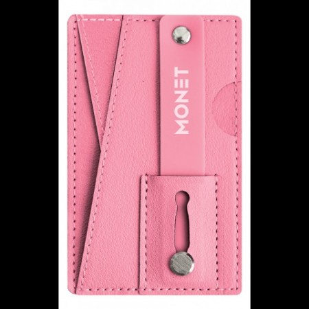 Monet Veske Wallet Grip Pastel Pink