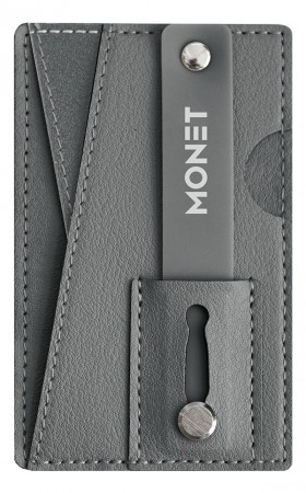Monet Diverse Monet Wallet Grip Dark Grey