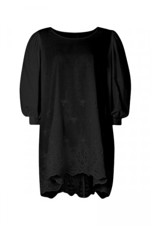 Line Of Oslo Oline Lacedress Black