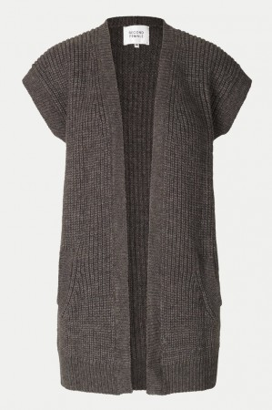 Second Female Blanche Knit Waistcoat